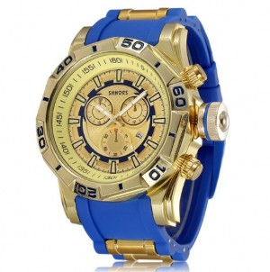 SHHORS XXL Watch Blue/Gold