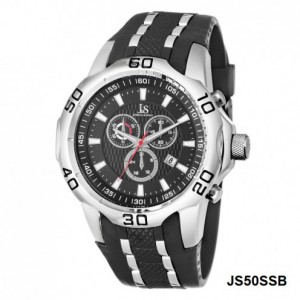 Joshua & Sons XXL Watch Black