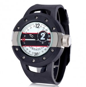 XXL Sport Watch Black/Silver