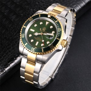 Reginald Klasse Watch Gold Green